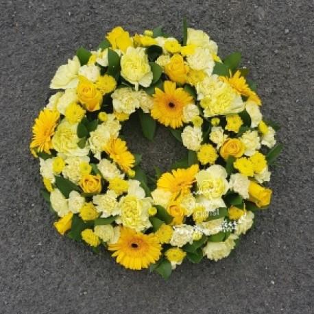 yellow wreath