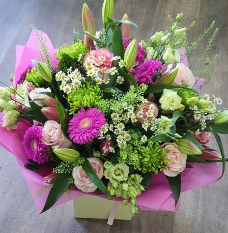 luxury florist choice aqua