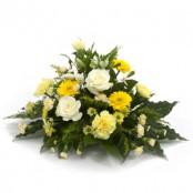 lemon funeral posy