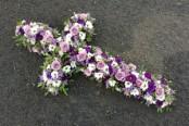 mixed flower cross